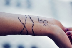 fotos-de-Tatuagem-de-âncora-feminina