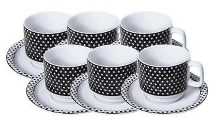 Conjunto de xícaras de café - R$ 79,90