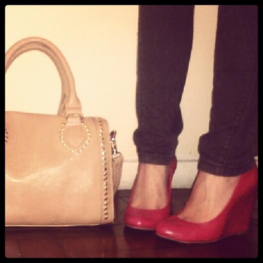 bolsa sapato lisbella calçados