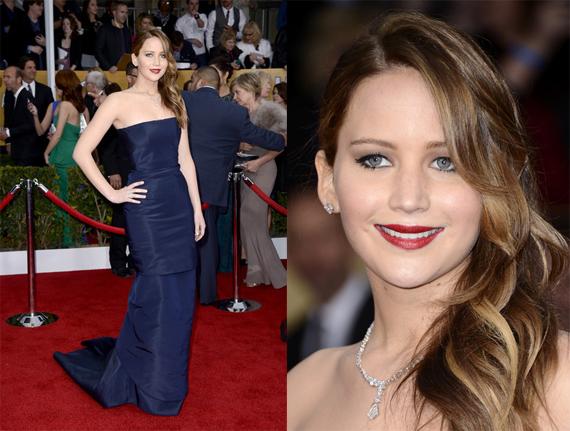 Jennifer+Lawrence+2013+SAG+Awards