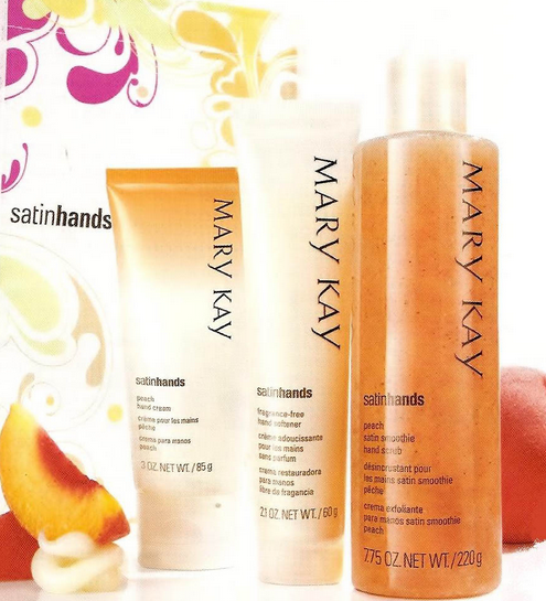 kit maos de seda mary kay