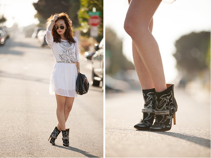 Studded_Suede_leather_ankle_boots_chriselle_lim_3