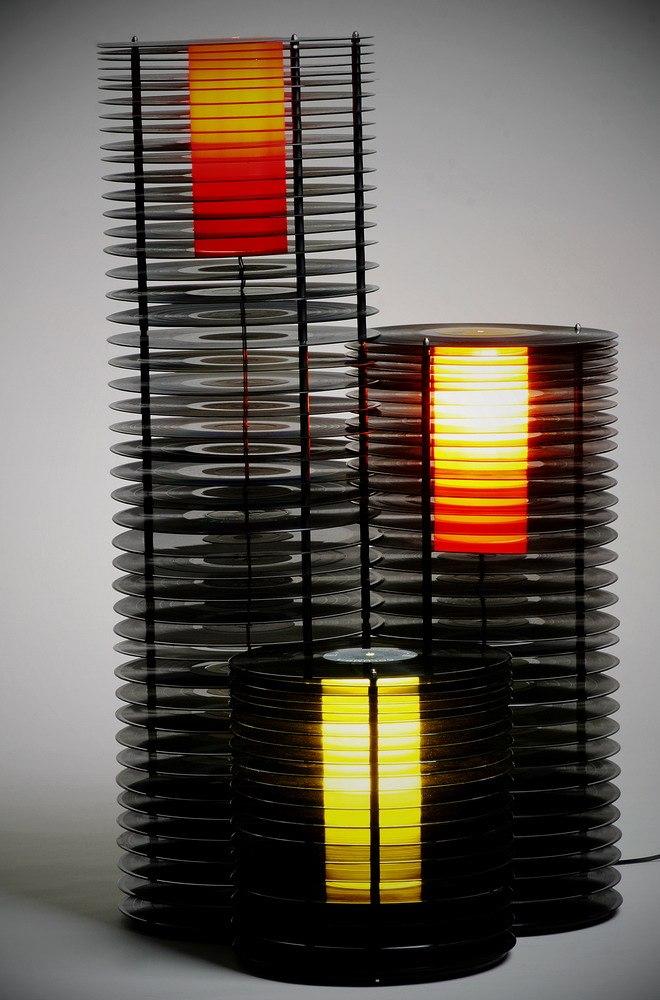 decoração-disco-vinil-luminária