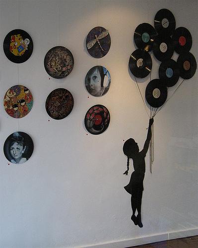 decoração-disco-vinil-parede