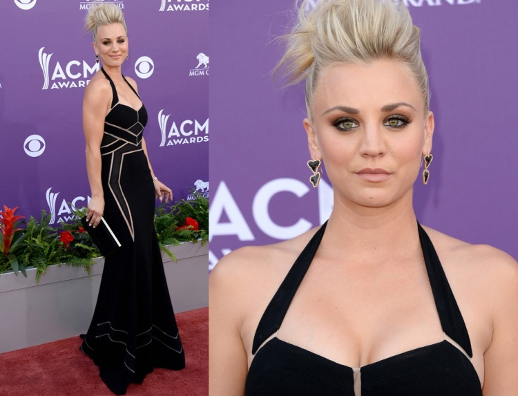 look-kaley-cuoco-acm-2013-bcbg