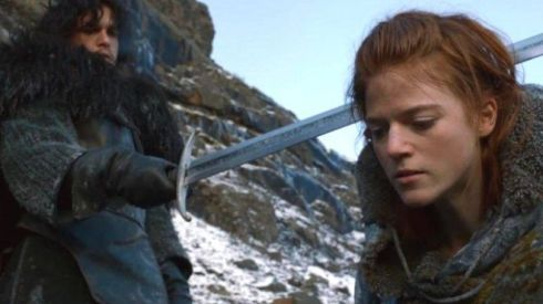 wilding ygritte jon snow game of thrones 660 hbo