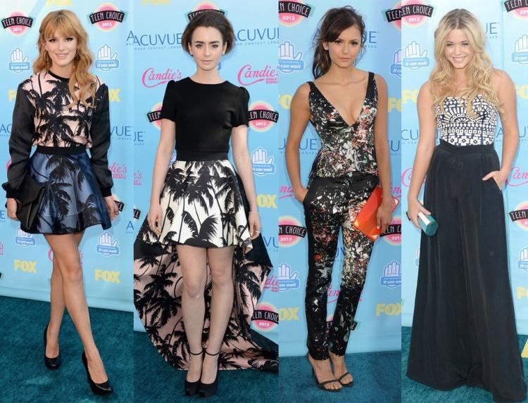 bella-thorne-lily-collins-nina-dobrev-sasha-pieterse-teen-choice-awards-2013