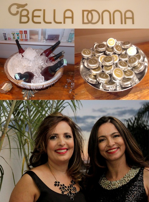 Inauguração Bella Donna: Glória Brandão e Martinha Oliveira
