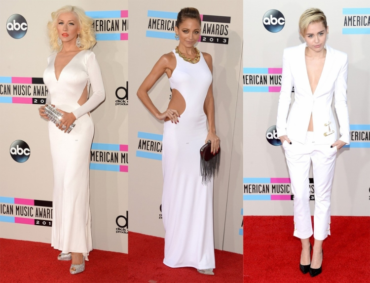 american-music-awards-christina-aguilera-nicole-richie-miley-cyrus