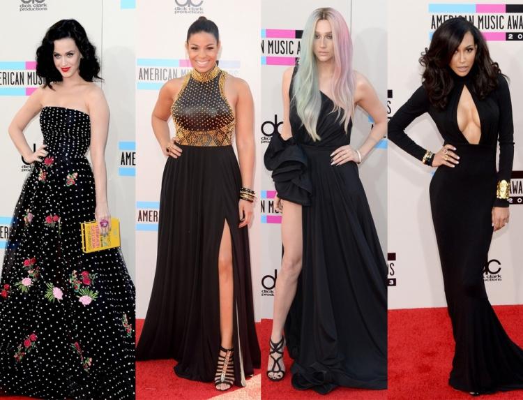 american-music-awards-katy-perry-jordin-sparks-kesha-naya-rivera