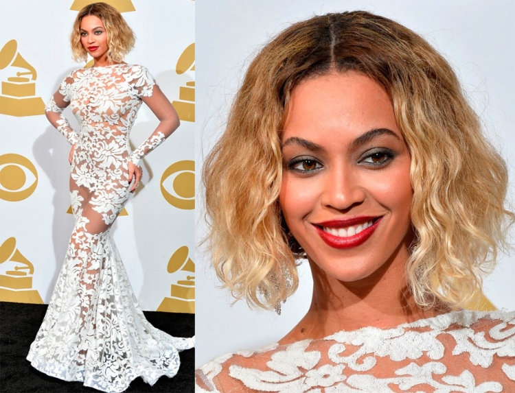 beyonce-wears-sexy-sheer-white-dress-at-grammys-2014-01-Michael Costello-look