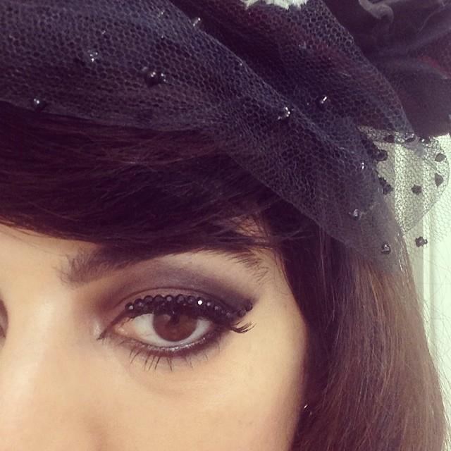Detalhe da maquiagem da Lia, ameeeei ♥