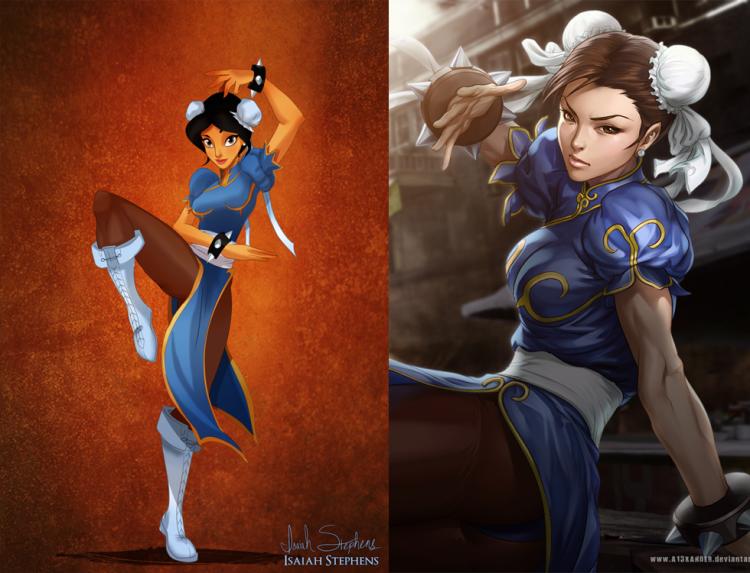 fantasia-jasmine-como-chun-li
