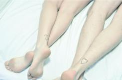tatuagem-coração-tattoo-heart-tornozelo