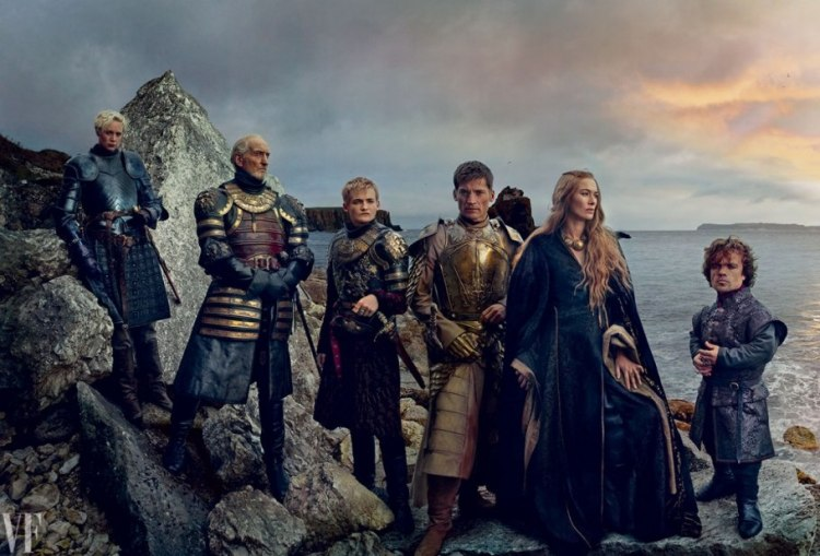 A família Lannister.