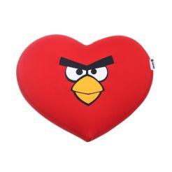 FOM - Almofada Coração Angry Birds Red Bird R$ 165