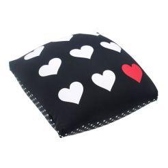FOM - Almofada Quadrada Love Game Poa (1) R$ 105