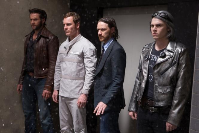 Wolverine, Magneto, Xavier e Mercúrio