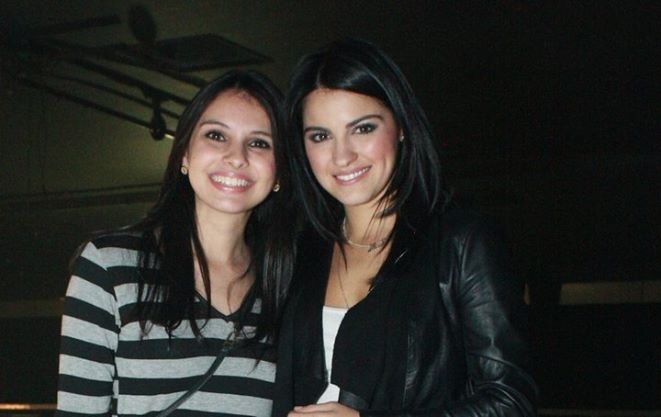 Eu e Maite Perroni, do RBD
