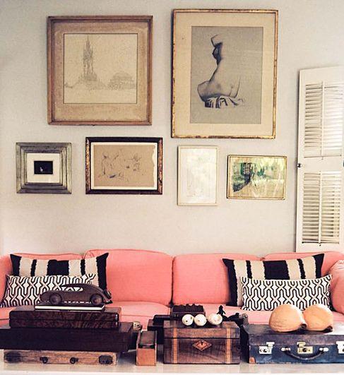 decoraçao-sofa-rosa