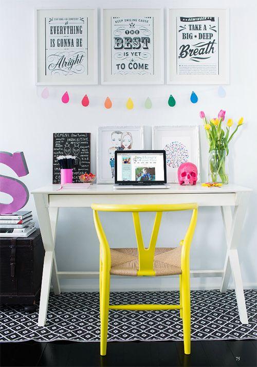 decoração-cadeira-colorida-amarela-1