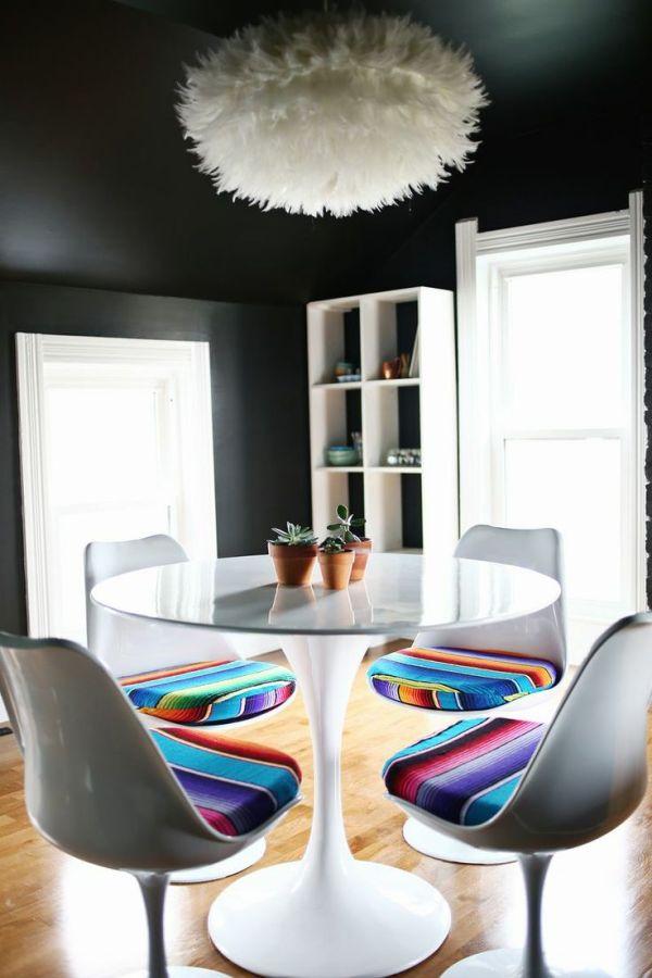 decoração-cadeira-estofado-colorido