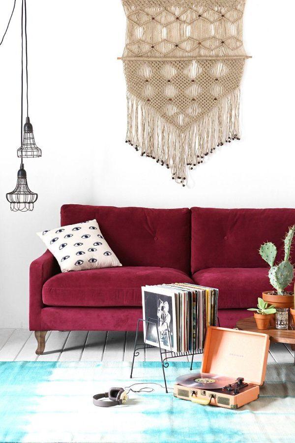 decoração-sofa-colorido-bordo