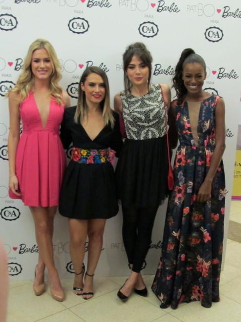 Fiorella Mattheis, Patricia Bonaldi, Maria Casadevall e Pathy Dejesus.
