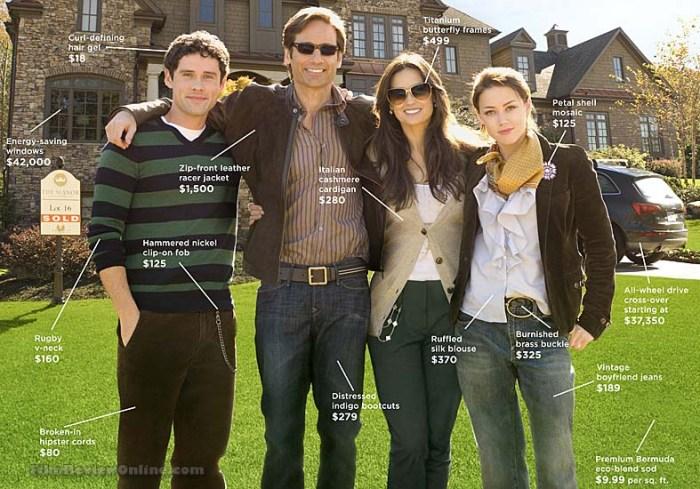 Família Jones: mansão e artigos de luxo para atrair os vizinhos