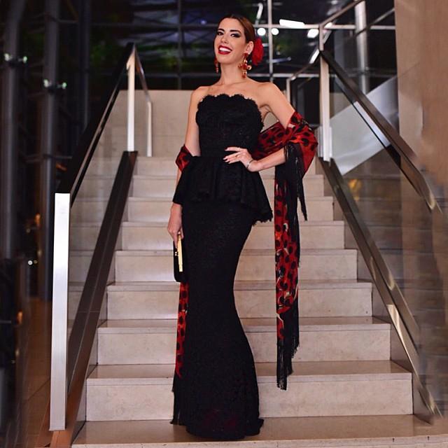 Camila Coutinho, bem espanhola