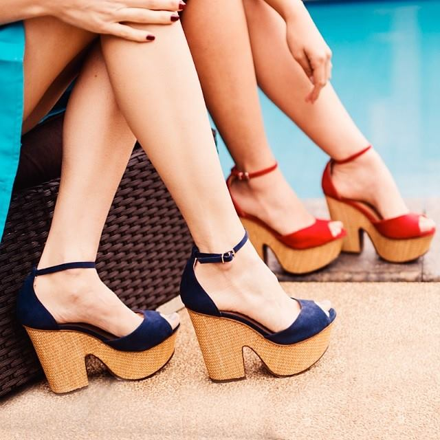 45518978ce O que usar com as sandálias de salto de cortiça  – Sistemáticas